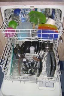 Homemade dish detergent..