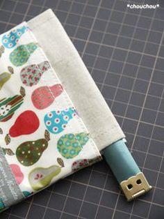 ごみポ レシピ14 Sewing Tutorials, Sewing Crafts, Sewing Projects, Japanese Sewing Patterns, Frame Purse, Wallet Pattern, Little Bag, Handmade Bags, Small Bags