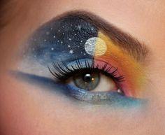 nigt - day make up, photoshoot inspiration