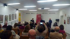 """Área Cultura Málaga @culturamalaga  4 feb. ¿Crees que existe la #felicidad? Hoy hablamos de ello con @antoniofraguas en III Ciclo de Encuentro con #Autores #MalagaLectora Biblioteca """"Manuel Altolaguirre"""""""