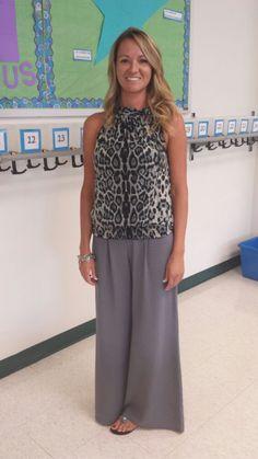 Gray Leopard- teacher clothing blog from @clothemeinrobes.com