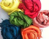 6 PASHMINA WEDDING SHAWL. Any Color. Wedding Favors. Pashmina Scarf.Pashmina Shawl. Bridal Shawl. Bridesmaid shawl. Bridesmaid gift.