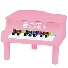 Schoenhut 18 Key Mini Grand Piano - Pink