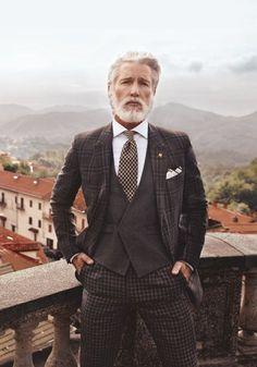 "gentlemansessentials: "" Style III Gentleman's Essentials "" Aiden Shaw has a chip on his shoulder (for The Rake magazine). Style Gentleman, Gentleman Mode, Dapper Gentleman, Sharp Dressed Man, Well Dressed Men, Style Dandy, Men's Style, Style Blog, Aiden Shaw"