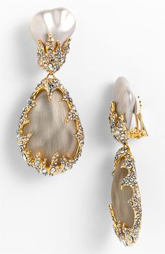 Alexis Bittar Framed Earrings ... Lovely
