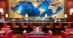 Hotels in Houston, TX - Hilton Americas Houston Downtown, Lobby Bar
