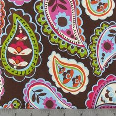 Roco Beat Paisley Fabric - 1 yard Fabric is: wide cotton material cut straight off the bolt ***********more yardage available upon request, just convo. Etsy Fabric, Fabric Shop, Art Craft Store, Craft Stores, Girl Room, Girls Bedroom, Baby Room, Paisley Fabric, Cellphone Wallpaper