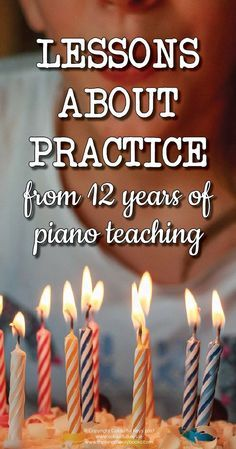 Make your students practice time count! http://colourfulkeys.ie/i-wish-i-knew-piano-practice-12-years-ago/