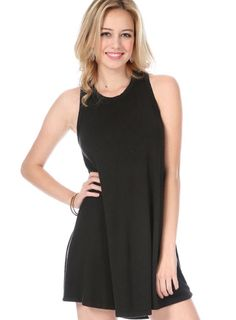 TShirt dresses are the best go-to! So versatile! Dress em up with accessories, or throw on some high top sneakers! Either look is fabulous AND comfortable! Greek.shoprevelry.com