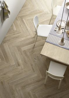 Treverk Charme Beige is a beige porcelain wood effect tile. Wood effect tiles are a major trend in interior design and with so many varieties available there are some amazing tiles to choose from. Fake Wood Flooring, Modern Flooring, Timber Flooring, Parquet Flooring, Kitchen Flooring, Kitchen Wood, Wood Effect Tiles, Wood Look Tile, Wood Tiles