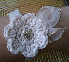 wrist corsage crochet - Google Search