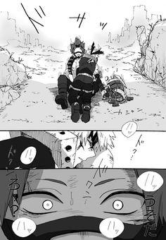 So sweet Kirishima x Bakugou