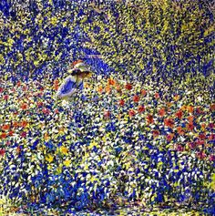 Ritman, Louis (1889-1963) - 1913c. Flower Garden (Phoenix Art Museum, Arizona, USA) by RasMarley, via Flickr