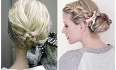 Braided-Updo-Braided-Buns-with-Scarf-Accessory