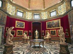 Uffizi Gallery, Tribuna (1570, by Bernardo Buontalenti, Florence, Italy).
