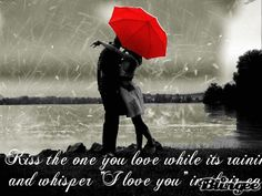 People Kissing in the Rain | People Kissing In The Rain Kissing in the rain