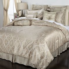 Highgate Manor Camilla 20 Piece Comforter Set Ivory