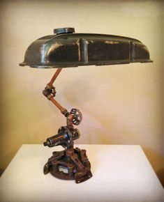 Wrong Assesment © Found object steampunk sculpture by award winning artist Jay…