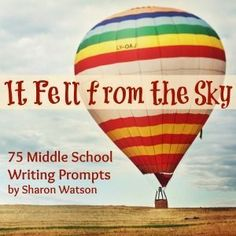 75 fun and educational middle school writing prompts for your young writers. Use them weekly or whenever your students need inspiration. Worksheets included.