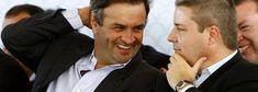 Aecio Neves rindo com Anastasia da impunidade do PSDB PRÉDIO USADO PARA GERAR PROPINA A AÉCIO NEVES VAI A LEILÃO POR 15% DO VALOR
