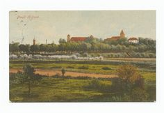Preußisch Holland, Blick auf die Stadt Holland, Prussia, Photo Postcards, Drawings, Pictures, Painting, City, The Nederlands, Photos