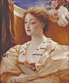 "Lord Frederick Leighton (1830-1896), ""Bianca"" 