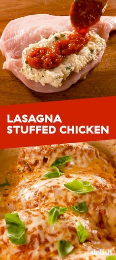 Chicken is the healthier way to make your favorite comfort food. Get the recipe at . Stuffed Chicken is the healthier way to make your favorite comfort food. Get the recipe at . Chicken is the healthier way to make your favorite comfort food. Yummy Chicken Recipes, Yummy Food, Low Calorie Chicken Recipes, Easy Stuffed Chicken Recipes, Italian Chicken Recipes, Recipe Chicken, Chicken Recipes Low Cholesterol, Recipe For Chicken Spaghetti, Low Carb Chicken Dinners