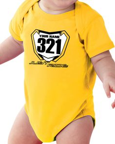 Motocross Baby T Shirt Creeper Infant One Piece by JUSTRIDE928
