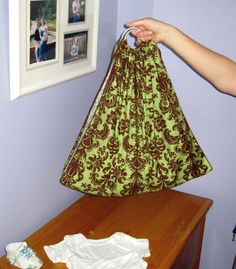 Midwifery Sling for weighing newborn -- to save as a keepsake