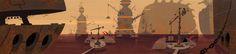 Samurai Jack Background: industrial