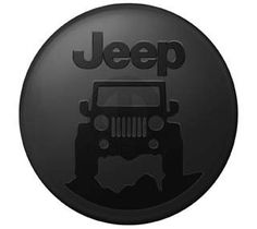 "The ""Jeep on the Rocks"" Molded tire cover from Mopar features a smooth black color molded into the surface with a black ""Jeep on the Rocks"" logo. Custom made to fit spare tires sizes of: Jeep Jk, Tan Jeep Wrangler, Jeep Wrangler Tire Covers, Jeep Spare Tire Covers, Mopar Jeep, Jeep Tire Cover, Jeep Cars, Spare Tires, Jeep Wranglers"