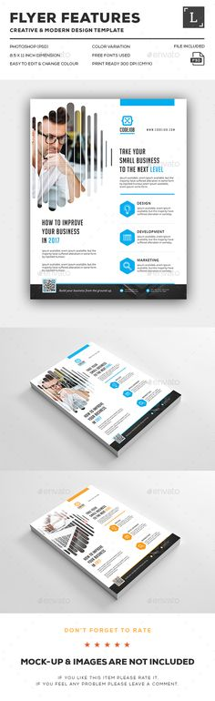 Business Flyer - Flyers Print Templates Corporate Business, Business Planning, Business Design, Business Flyers, Print Design, Web Design, Flyer Printing, Creative Flyers, Print Templates