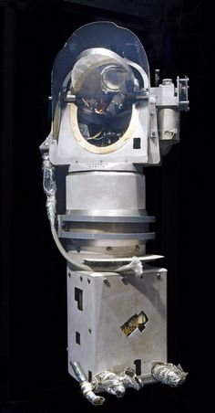 November 24, 1969: Apollo 12 astronauts returned to Earth with this television camera from the Surveyor III spacecraft. The camera had been on the Moon for 2 and a half years. NASA retrieved it to learn about long-term exposure of materials to the lunar environment. / On display at Museum in DC.