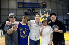 Chris Rene, James Durbin, Santa Cruz Warriors @grindouthunger http://grindouthunger.org/2013NewYearResolution