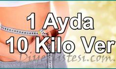 1 Ayda 10 Kilo Verdiren Diyet Listesi