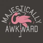 """""""Majestically Awkward"""" and proud of it! Funny flamingo t-shirt. Graphic tees with sayings. : """"Majestically Awkward"""" and proud of it! Funny flamingo t-shirt. Graphic tees with sayings. Flamingo Art, Pink Flamingos, Flamingo Funny, Flamingo Tshirt, Flamingo Tattoo, Flamingo Pool, Nerd, Ex Machina, Lol"""