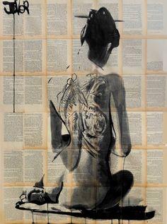 "Saatchi Art Artist Loui Jover; Drawing, ""path"" #art"
