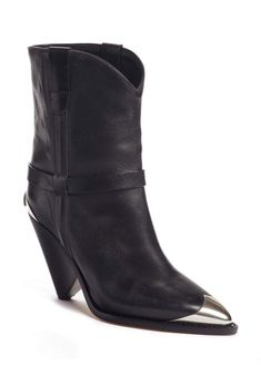 Find and compare Isabel Marant Lamsy Pointy Toe Boot (Women) across the world's largest fashion stores! Bootie Boots, Shoe Boots, Wearing Black, Black Boots, Leggings Are Not Pants, Booty, Isabel Marant, Heels, Toe