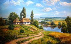 Український пейзаж. Гордієва Марія. Україна.