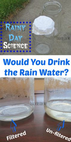 Rainy day science- f