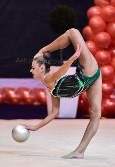 Alexandra SOLDATOVA (Russia)🇷🇺 ~ Ball @ GP Eilat-Israel10/'16🇮🇱 ❤️❤️   Photographer 🇷🇺Ashley Kozlov.