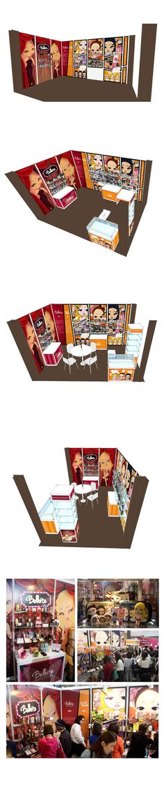 POP & Display design- 2014 HONG KONG COSMOPROF Booth Design