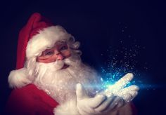 Santa Magic!    SANTA PICTURES ARE GREAT TO PRINT & HANG AROUND HOUSE,