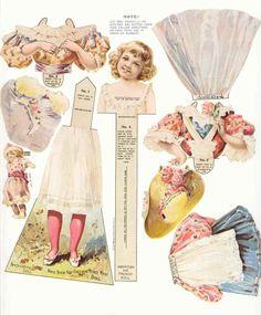 Antique Advertising Paper Dolls