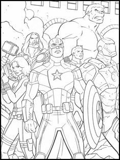 10++ Avengers coloring pages endgame trends
