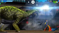 Jurassic World the game continue feeding dinosaurs and expanding the park and a dinosaur battle Game Jurassic World, Dinosaurs, Battle, Park, Games, Parks, Gaming, Plays, Game