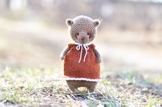 Crochet and knitting patterns by ShopStrawAnimals Crochet Toys Patterns, Amigurumi Patterns, Knitting Patterns, Knit Crochet, Crochet Hats, Amigurumi Tutorial, Amigurumi Toys, Crochet Animals, Girl Gifts