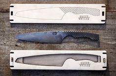 Like a phoenix that rises from the ashes of itself, the Creek Cutler knives rise from the ashes of workshop tools, retaining the soul of a