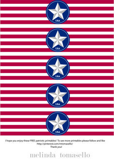 free 4th of july printables | Free Fourth of July Printable » Handmade Decor - The Flair Exchange