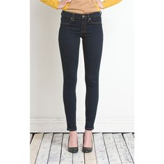 Henry & Belle Super Skinny Ankle (339970113) ($79) ❤ liked on Polyvore featuring jeans, white cropped jeans, ankle length skinny jeans, henry belle jeans, skinny fit jeans and skinny jeans